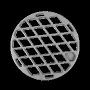 Решётка-гриль чугунная круглая 275х15 мм. РГ-3 Сибирячка