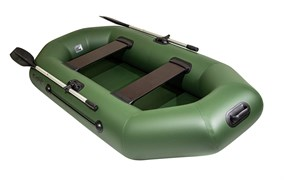 Лодка Барс 240 зеленая фото
