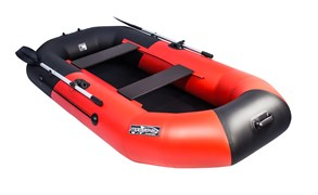 Лодка ПВХ Таймень NX 270 Комби красно-чёрная фото