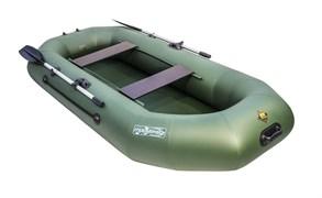 Фото Зеленой ПВХ лодки Таймень NX 270