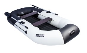 "Лодка NX 270 НД ""Комби"" светло-серый/черный фото"