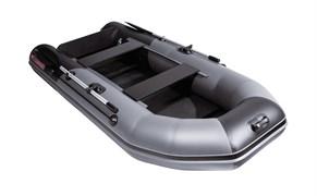 Лодка пвх NX 2850 Слань-книжка киль графит/черный Комби фото