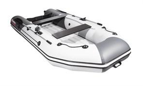 "Лодка пвх NX 3200 НДНД графит/светло-серый ""Комби"" фото"