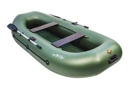 Зеленая НД ПВХ Лодка Таймень LX 290