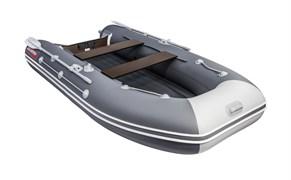 ПВХ Лодка моторно-гребная Таймень LX 3400 НДНД графит/светло-серый
