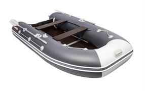ПВХ Лодка для рыбалки Таймень LX 3400 СК графит/светло-серый