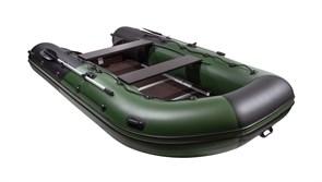 """лодка ривьера максима 3800 ск """"комби"""" черный/зеленый с доставкой"""