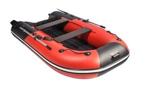 """Фото лодки ривьера компакт 2900 НДНД """"Комби"""" красный/черный"""