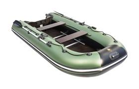 """Лодка Ривьера компакт 3200 ск """"касатка"""" зеленый/черный фото"""