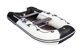 """Лодка ривьера компакт 3200 ск """"комби"""" светло-серый/черный фото"""