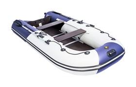 "Лодка ривьера компакт 3200 ск ""комби"" светло-серый/синий 320 см фото"