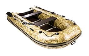 Лодка ПВХ Ривьера компакт 2900 СК Камуфляж светлый камыш фото