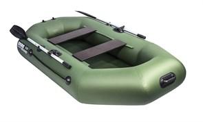 Лодка ПВХ Аква-мастер 240 зелёный Фото