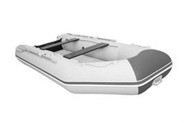 Лодка ПВХ Аква 3400 НДНД светло-серый/графит фото